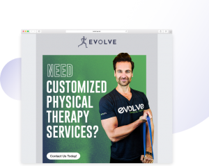 Evolve website image